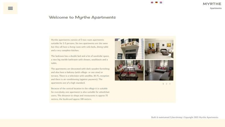 screenshot Myrthe website